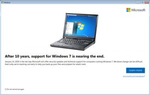 Windows 7 is now officially EOL